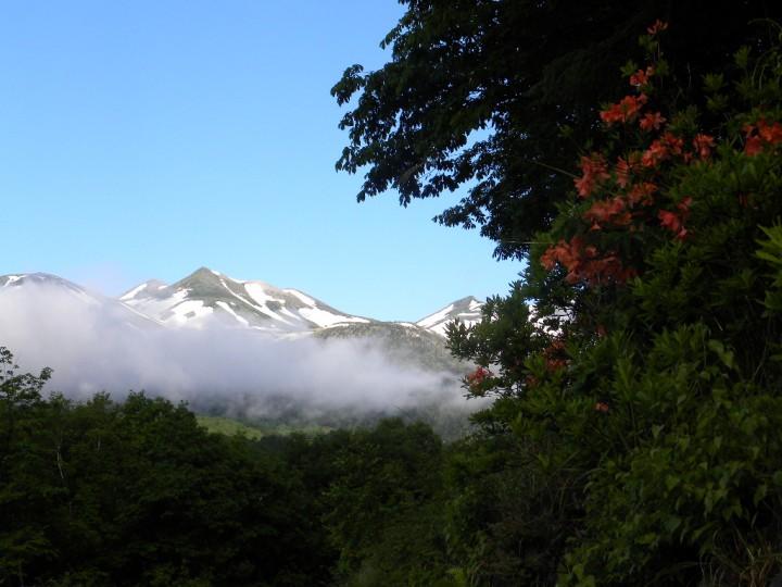 乗鞍岳の夜明け