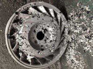 RENAULT ALPINE V6 pict-2-剥離・洗浄