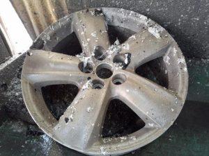 トヨタ純正ロイヤル pict-2-全剥離・洗浄