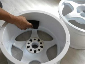 OZ RACING CRONO pict-4-ホイールコート施工