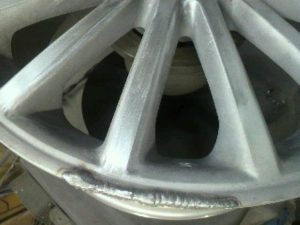 WP AUDI pict-3-カケ溶接修理