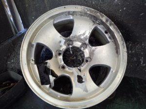 4WD用アルミサビ修理 pict-2-全剥離(01)