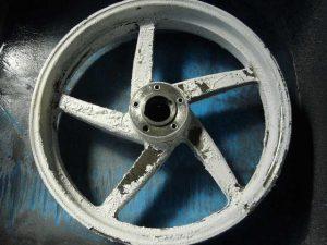 マルケジーニマグ カケ修理 レストア pict-2-塗装剥離