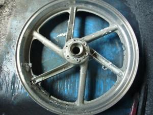 ホンダ2輪レストア pict-2-塗装全剥離01