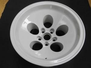Lamborghini Countach LP400S用マグネシウムホイールbefore03陽極酸化処理→粉体塗装02